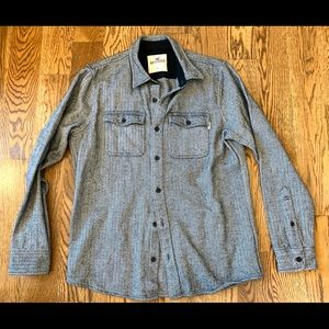 NWOT hollister button down flannel shirt!